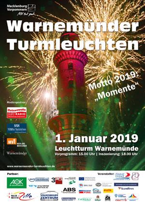 Warnemünder Turmleuchten - Plakatmotiv 2017